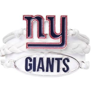 Ashley Bridget NFL New York Giants Bracelet NIB
